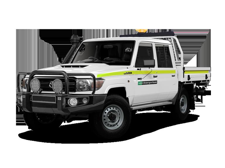Toyota Landcruiser Duel Cab 4WD Mine Spec