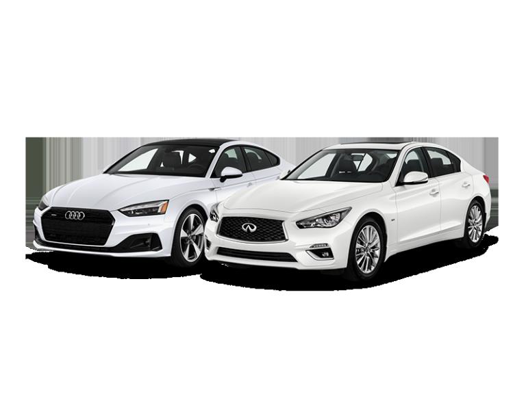 INFINITI Q50,  Audi A5 Sportback
